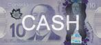 Cash - $10 bill