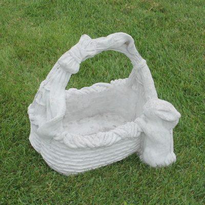 Basket with Rabbit