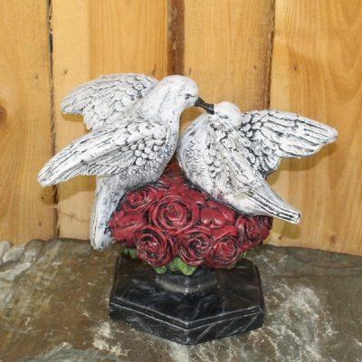 Doves on Roses