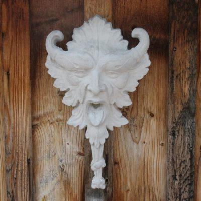 Green man with horns