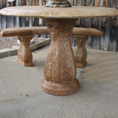 Ram Table Pedestal