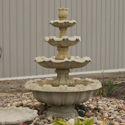 Large Scroll Fountain