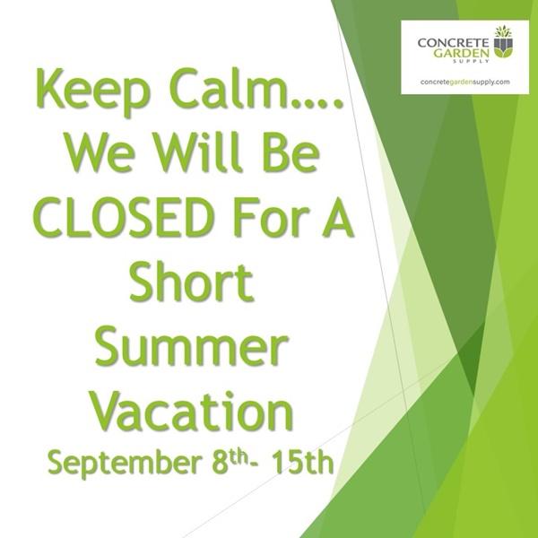 Summer Vacation Sept 2021