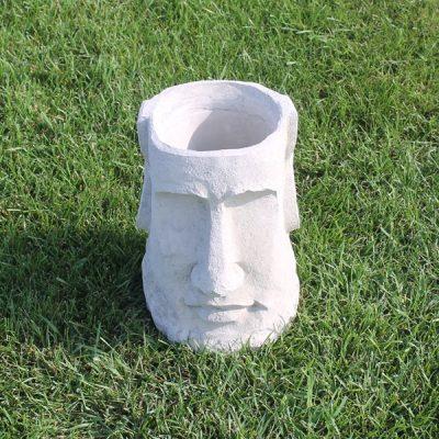 Easter Island Head Planter