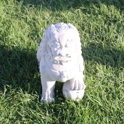 Foo Dog with Left Foot up